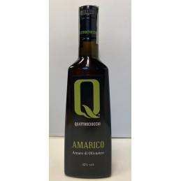Quattrociocchi - Amarico - Kräuterbitter mit Olivastroblätter - 500ml
