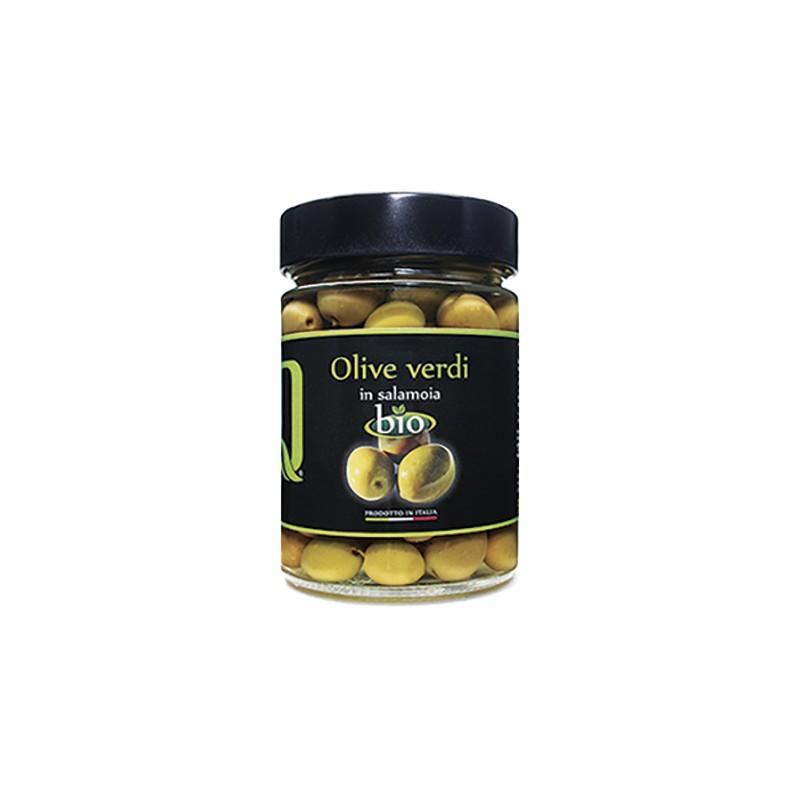 Quattrociocchi - Eingelegte Oliven (grün) - 350g
