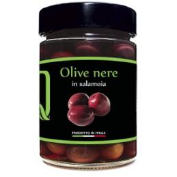 Quattrociocchi - Eingelegte Oliven (schwarz) - 350g