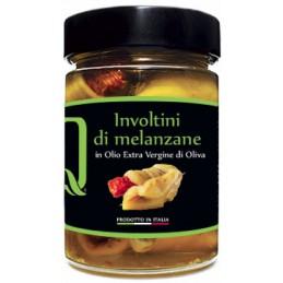Quattrociocchi - Auberginen eingerollt mit getrocknete Tomaten, Thunfisch und Kapern - 320g