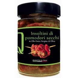 Quattrociocchi - Tomaten getrocknet, eingerollt mit Thunfisch und Kapern - 320g