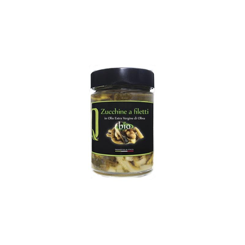 Quattrociocchi - Zucchini filetiert - 320g