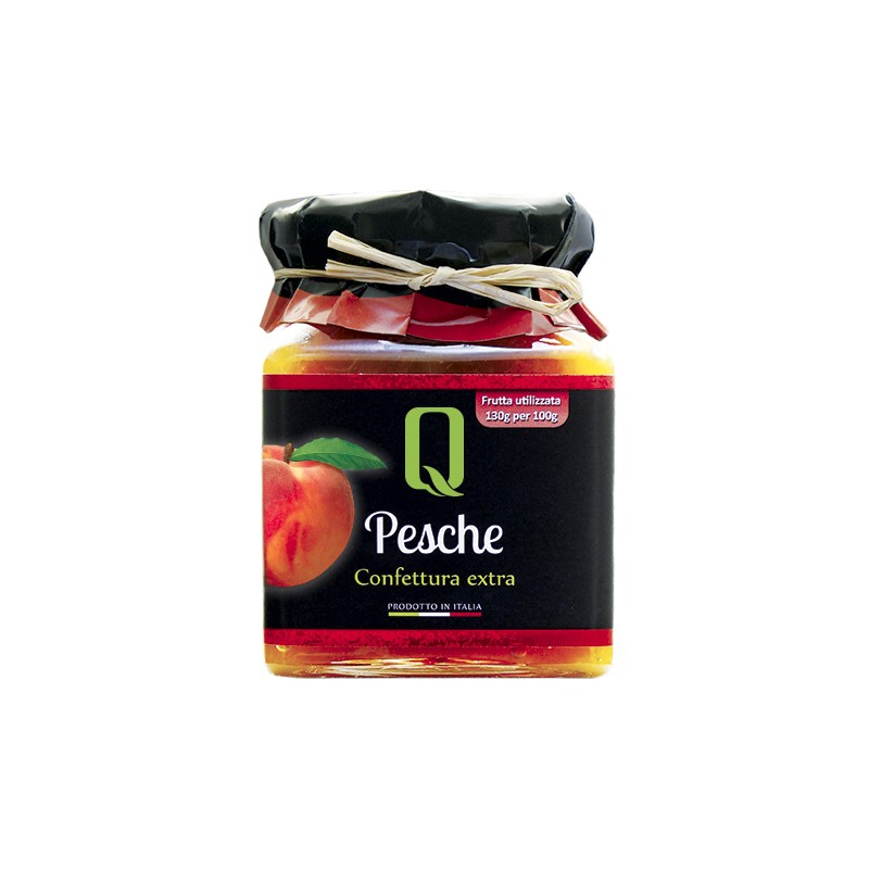 Quattrociocchi - Pfirsichkonfitüre - 350g