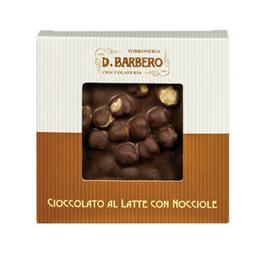 Barbero - Milchschokolade mit ganzen Haselnüssen - 120g