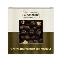 Barbero - Dunkle Schokolade mit ganzen Haselnüssen - 120g