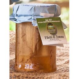 Frantoio di sant`agata  - Thunfischfilets in nativem Olivenöl extra 30% - 300g