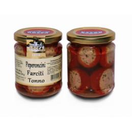 Rocca Luigi & Figlio - Paprikaschote gefüllt mit Thunfisch - 280g