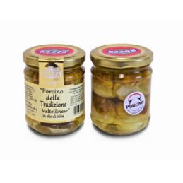 Rocca Luigi & Figlio - Steinpilze nach Valtellinese Tradition in Olivenöl - 190g